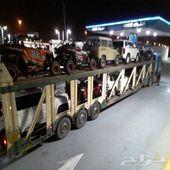 شحن سيارات واغراض و اثاث من دبي الي السعودية