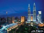 جدول لزوجين  سياحى لمدة 10 ايام  فى ماليزيا