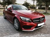 Mercedes Benz C300 coup مرسيدس بنز 2017