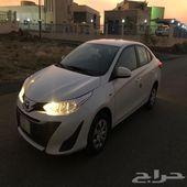 يارس 2019ماشي 28000نضيف السياره السعر 42500