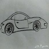 رسم السيارات  للتنازل