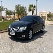 لكزس ES2010 للبدل بسيارة عائلية
