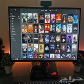 شاشة ASUS ROG SWIFT PG279Q 2K 165Hz 27inch