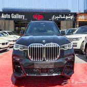 BMW X7 40i M kit warranty 2020 GCC