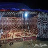 مخيم للإيجار اليومي في الرياض