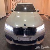 للبيع BMW740 لارج M كت 2016