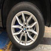 جنوط سيارة BMW X5 2019 نظيفه