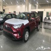 عرض راف فور 2020 بنزين LE سعودي 86500