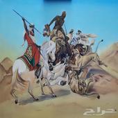 لوحة زيتية جدارية