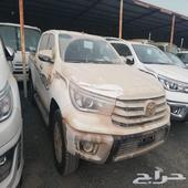 هايلكس 2020 دبل S-GLXديزل سعودي فل كامل اصفار