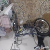 دراجه كوبرا مقاس 20 تحتاج صيانه للكوتش الخلفي