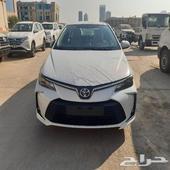تويوتا كورولا XLI 2021 طيس وجنوط وفتحة سعودي