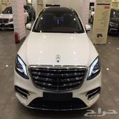 (( تم البيع )) مرسيدس S 450 موديل 2018 دايموند