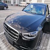 للبيع مرسيدس S500 موديل 2021 اصفار
