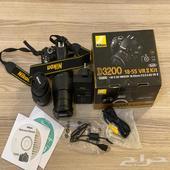 كاميرا إحترافية نيكون للبيع DSLR NIKON D3200