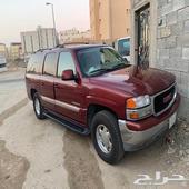 سيارة جمس احمر مسروقة في الرياض