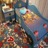 غرفة اطفال ولادي نظيفه جدا .