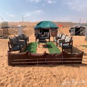 مخيمات ليالي نجدية 55 ريال فقط للقسم