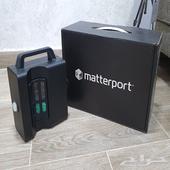 كاميرا 3D Matterport Pro2 نظيفة جدا مع أغراضه