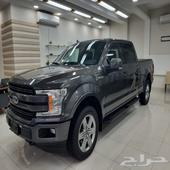 FORD F150 LARIAT GREY 2018 فورد لاريت رمادى
