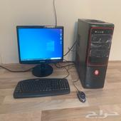 كمبيوتر مكتبي 1تيرا وssd120