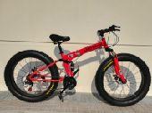 سياكل دراجه هوائية  قابل للطي المينيوم