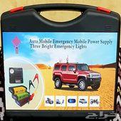 اشتراك بطارية مع ماطور هواء للسيارة شنطةطوارئ