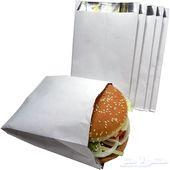 أكياس برجر ورق ساندوتش أكياس عطارة ممخبوزات