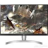 شاشة LG 27UK650-W 4K