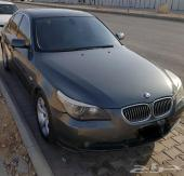 BMW 523i 2007 وردة ماشاء الله