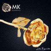 وردة MK المطلية ذهب الاصليه الان ب 300 فقط