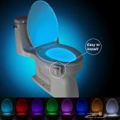 إضاءات للمرحاض جديد