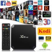 X96 ريسيفر الأندرويدTV للأفلام وكاس العالم