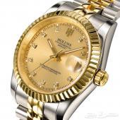 ساعات ماركة اصليه نفس شكل Rolex بسعر 350 فقط