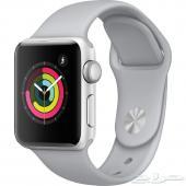 ساعة ابل 3 Apple watch للبيع مقاس 42