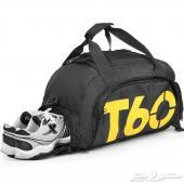 حقيبة رياضية مع مكان مخصص للحذاء الرياضي