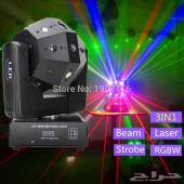 كورة الديسكو ليزر مع LED