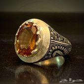 للبيع خاتم بحجر متغير الالوان قمة بالجمال
