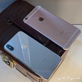ايفونx - 64 قيقا فضي وايفون 6s 64 قيقا وردي