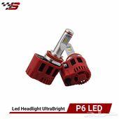 P6 LED ( شمعات ليد بتقنية الليزر للسيارات )