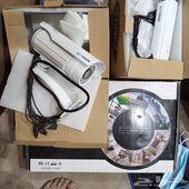 DVRجهاز تشغيل كاميرات المراقبه مع كاميرتين ج