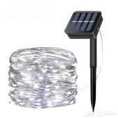 اضاءة للزينة بالطاقة الشمسية للاشجار والجلسات