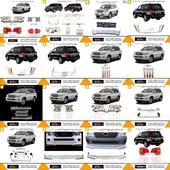 اكسسوارات تويوتا لاندكروزر 2008 - 2015