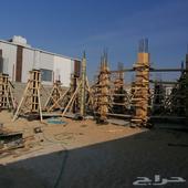 بناء عظم مع المواد