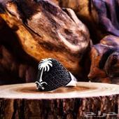 خاتم فضة عيار 925 عصري