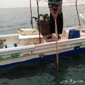 قارب صيد حجة قديمة