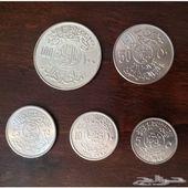طقم عملات معدنية سعودية نادرة ( الآيات )