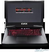 أقوى جهاز محمول بالعالم Clevo GTX1080 7700K