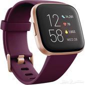 ساعة يد ذكية من فيتبيت فيرسا 2 للصحة واللياقة