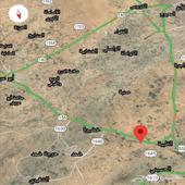 ارض زراعية في خبت الفلق(خط الظبية ابوعريش)